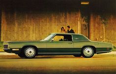 1971 Ford Thunderbird Landau 2 door coupe by coconv, via Flickr