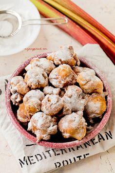 Pączusie z rabarbarem Nigella Lawson, A Food, Cereal, Pudding, Sweets, Lunch, Baking, Breakfast, Morning Coffee