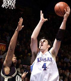 Nick Collison.... Loved at KU and even more now that he's THUNDER