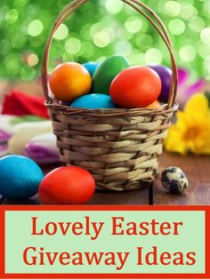 Lovely Easter Giveaway Ideas