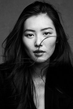Liu Wen, photographed Patrick and Victor Demarchelier for What's Contemporary.