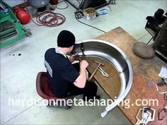 Metal Shaping: Fender Bead and Wire Edge Demonstration