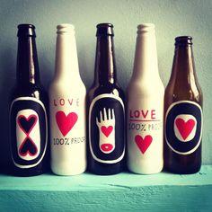 botellas que creen en el amor