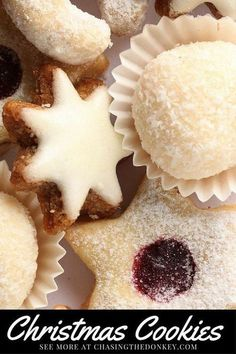 Croatian Recipes Christmas Cookies Two Ways. Here are two of my favorite Croa. Serbian Recipes, Hungarian Recipes, Serbian Food, Ukrainian Recipes, Christmas Cooking, Christmas Desserts, Christmas Goodies, Christmas Cakes, Christmas Traditions