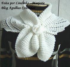 Agulhas Coloridas Croche e Trico: Golinha de trico - COM RECEITA PAP