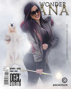 There is no beauty without brains Wonder Ana (@ana_sisi) by DGCL Comics  #002 - 2016  Muy agradecido con mi amiga Anastasia (@ana_sisi) por acompañarme en estas aventuras ... YEAH!!! This is the second cover of our new division comics DGCL Comics  (@dgclcomics) @dgCarlosLeon branch dedicated to creating illustrations  Very grateful to my friend Anastasia (@ana_sisi) for joining me on these adventures ... YEAH !!! Aquí hacemos gráficas tus ideas (Here we chart Your ideas)  DG CARLOS LEÓN…