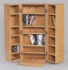 Amish Medium Cd Cabinet With Doors