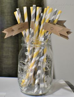 flannel gray and canary yellow...the baby shower theme that i'm throwing for my gf.