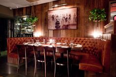 Felice bar by Robert McKinley, New York hotels and restaurants