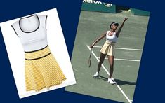 Venus Williams sporting an outfit from her line EleVen at Family Circle Cup 2014