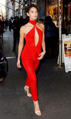 Tiana b red dress yt
