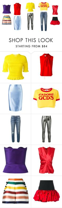 """""""You Love It..**"""" by yagna ❤ liked on Polyvore featuring 3.1 Phillip Lim, Marques'Almeida, Martha Medeiros, GCDS, Mother, RtA, Delpozo, Isabel Marant, Carolina Herrera and Yves Saint Laurent"""