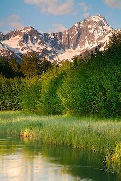 Mt. Alice, Kenai Peninsula, Chugach National Forest near Seward, Alaska