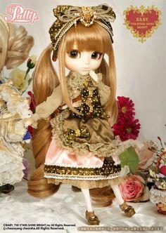 P-164 Pullip BABY x Misako Aoki x Favorite Ribbon; Chocolate Ver.