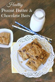 Breakfast bars, Peanut butter oatmeal and Breakfast on Pinterest