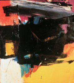 Structure and Imagery: Franz Kline: In Color Struktur und Bildsprache: Franz Kline: In Farbe Pin: 309 x 350 Franz Kline, Watercolor Artists, Oil Painting Abstract, Painting & Drawing, Abstract Art, Painting Lessons, Watercolor Painting, Willem De Kooning, Jackson Pollock