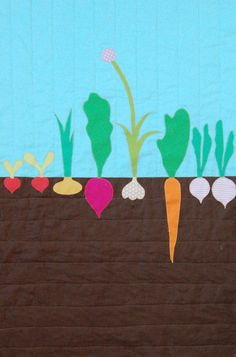 Good tutorial for quilt with machine quilting and applique