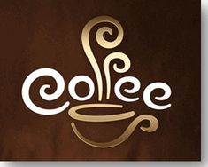 cafe & coffe logo sample