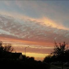 Sunrise in Richmond. Submitted by: Sarah