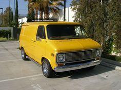 Chevy Vans, Vanz, Panel Truck, Cool Vans, Vintage Vans, Chevy Pickups, Custom Vans, Van Life, 1970s