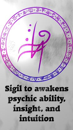 Sigil to awakens psychic ability, insight, and intuitionSigil requests are closed. For more of my sigils go here: https://docs.google.com/spreadsheets/d/1m9vUCQcK8uX8O8yRoSHMkM9kKydBukSTKpO1OdWwCF0/edit?usp=sharing