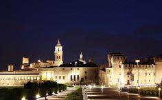 Mantova, panoramica dal ponte di San Giorgio