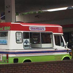 Granelli's ice cream van. 25 October 2016