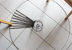 Une suspension design 100% récup DIY – IDDIY – Interior Design et DIY - luminaire, suspension, laine, wool, lampshade, recycling
