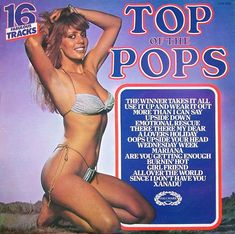 top of the pops vinyl album - Bing images Cover Art, Lp Cover, Cool Album Covers, Music Covers, Emotional Rescue, Pop Albums, Pochette Album, Pop Hits, Cover Songs