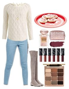 """Cookies for Santa"" by silent-sorrow on Polyvore featuring WÃ¥ven, Jimmy Choo, Stila and Giorgio Armani"