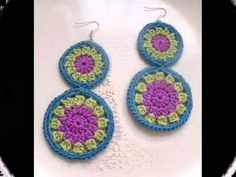 EARRING GIVEAWAY!!! Enter to win 2 pairs of earrings of your choice.    #crochet #earrings #jewelry