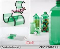 bottled recycled items