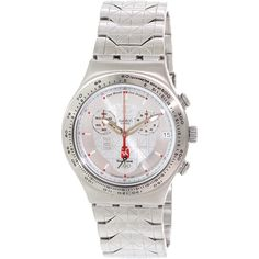 Swatch Men's Irony YCS496G Stainless-Steel Swiss Quartz Watch