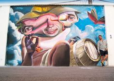 Mr Trazo Street Art in spain