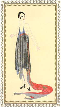 Vamps, Circe  Artist: Erte  Style: Art Deco  Genre: design