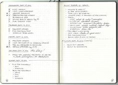 Bullet Journal 101 - The Daily Log