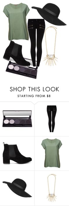 """Untitled #308"" by california-babe on Polyvore featuring Paige Denim, Seaspray and Topshop"