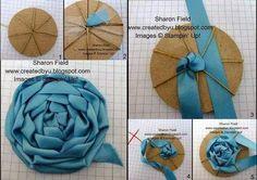 flor con cintas