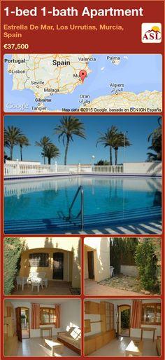 1-bed 1-bath Apartment in Estrella De Mar, Los Urrutias, Murcia, Spain ►€37,500 #PropertyForSaleInSpain
