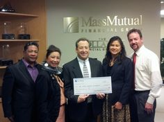 Thank you Mass Mutual and Fore Organized Golf: Last Fall, Fore Organized Golf (FOG), a San Diego-based organization, selected The Bone Marrow Foundation as a beneficiary of its Asian Pacific Open. One of the tournament sponsors, Mass Mutual, made a generous $2,000 donation to the Foundation.