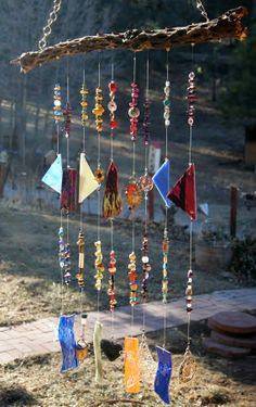 WIND CHIME: Southwest Cholla Cactus Wind Chime and Sun Catcher by WhoopsyDaisy, $75.00