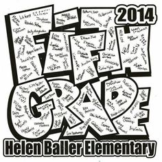 5th grade tshirts are ready and being ordered! - Helen Baller PTA Elementary Yearbook Ideas, Elementary Schools, 5th Grade Graduation, Kindergarten Graduation, Graduation Shirts, Graduation Theme, Graduation Ideas, Graduation Cards, Pta School