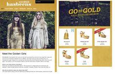 """SUB: """"Go for Gold! Meet the Golden Girls"""" Intervista al duo folk First Aid Kit & consigli di stile... tutto all'insegna dell'oro e della Svezia. Wow!"""