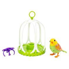 DigiBirds Bird with Bird Cage - Bella
