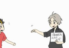 Mommy Crow is patting everyone's head! ~So Cute~                  -Haikyuu On Facebook