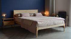 Ex-Display Ash Hoxton Bed | Sale Beds | Natural Bed Company