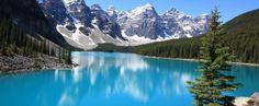 Unternimmt man eine Englisch Sprachreise nach Calgary sollte man unbedingt den Banff National Park besuchen!
