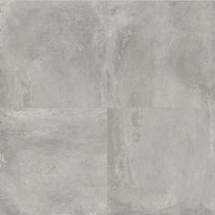 Ash | Garden State Tile Cove Base, Large Format Tile, Poured Concrete, Porcelain Tile, Accent Decor, Ash, Tile Floor, Spirit, Stone