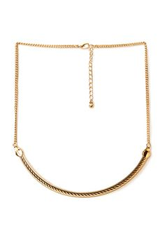 Sleek Curve Necklace | FOREVER 21 - 1000125336