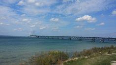 Beautiful mackinac bridge